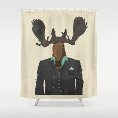 mr moose Shower Curtain