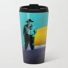 The Pizza is in the Oven Metal Travel Mug
