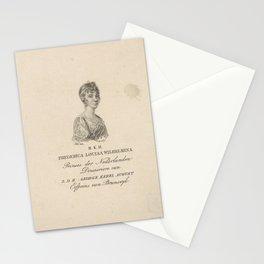 Frederica Louisa Wilhelmina (prinses van Oranje-Nassau), Willem van Senus, 1790 - 1851 Stationery Cards