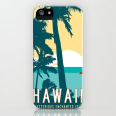Hawaii Travel Poster Slim Case iPhone (5, 5s)