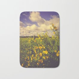 Field of Happiness Bath Mat