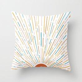 Sunshine All Around Throw Pillow
