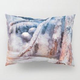 Frozen Avalon Fantasy Falls Pillow Sham