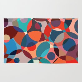 Crowded place Rug