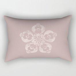 Worn-down Rectangular Pillow