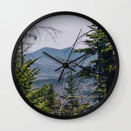 Nye Mountain Wall Clock