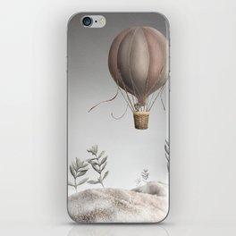 Morning Balloon iPhone Skin