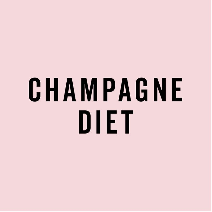Champagne Diet Funny Quote Comforters