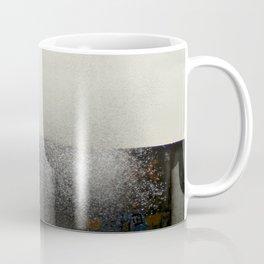The ocean behind the wall Coffee Mug