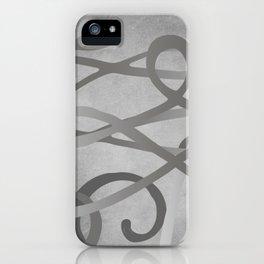 GREY MATTER. iPhone Case