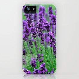 Lavender colors... iPhone Case