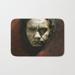 Ludwig van Beethoven (1770-1827) by Franz von Stuck (1863 - 1928)(1) Bath Mat