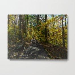 Bench Daze Metal Print