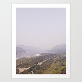THE GORGE Art Print