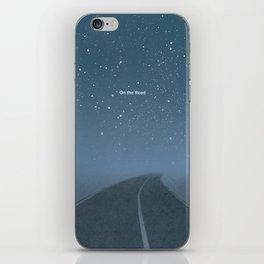"Jack Kerouac ""On the Road"" - Minimalist literary art design, bookish gift iPhone Skin"