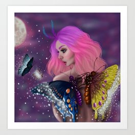 Moon Magic Art Print