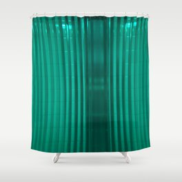 bathroom glass and subway tile Shower Curtain