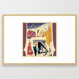 """Dominoes"" by Roman Muradov for Nautilus Framed Art Print"