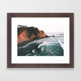 Oregon Coast V Framed Art Print