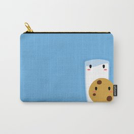 Milk and Cookie Carry-All Pouch