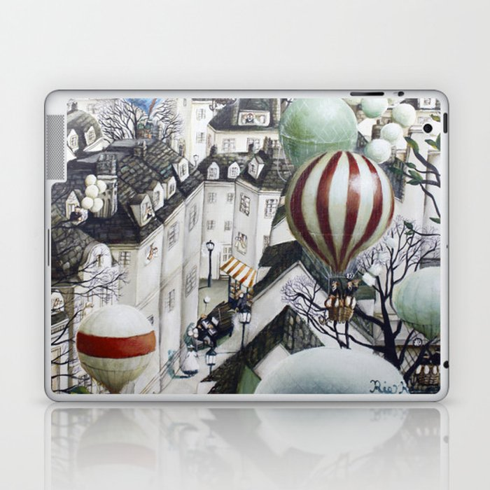 Balloon travel Laptop & iPad Skin