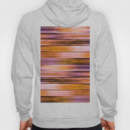 Silky Copper Metal Ribbons Stripes Pattern Hoody