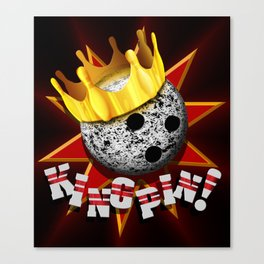 KINGPIN! Canvas Print