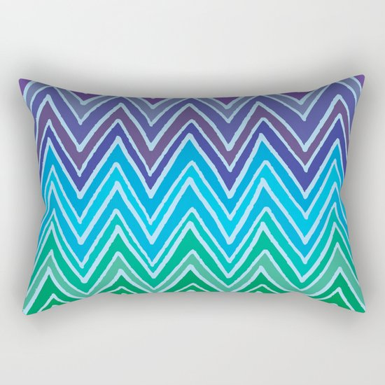 Come with me and with colors Rectangular Pillow