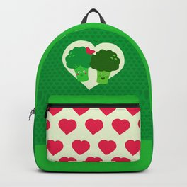 Broccoli in love Backpack