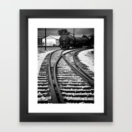 En Route Framed Art Print