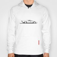ferrari Hoodies featuring Ferrari 312P by Remove Before . . .