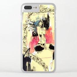 Queen Destructo Clear iPhone Case