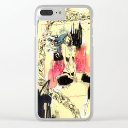 Queen Destructo Clear iPhone Case