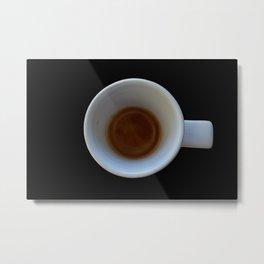 espresso coffee in cup Metal Print