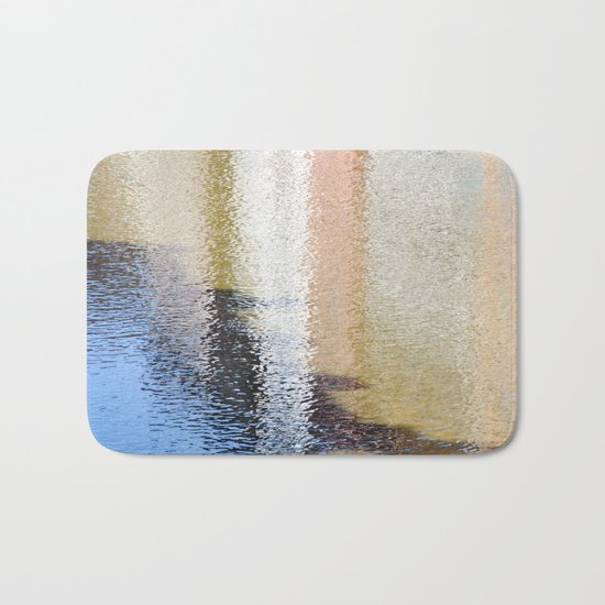 Light and Shadow Reflections (City Walks) Bath Mat