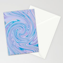 PURPLE FANCY Stationery Cards