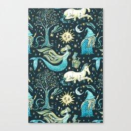 Good old fairy tale Canvas Print