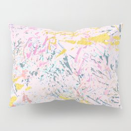 Pine Leaves - abstract pattern Pillow Sham