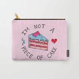 Not A Piece of Cake Carry-All Pouch