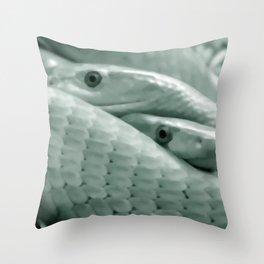 Shrewd as a Serpent Throw Pillow