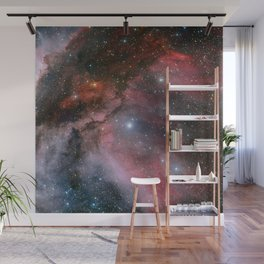 The Carina Nebula, Wolf–Rayet star WR 22 Wall Mural
