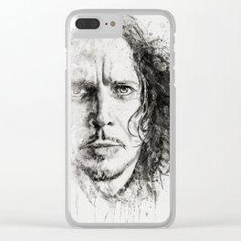 The Voice of Seattle Monochrome Clear iPhone Case