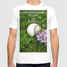 First Day of Spring Mens Fitted Tee MEDIUM White
