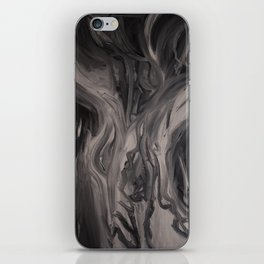 she's looking iPhone Skin
