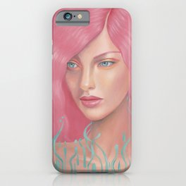 Pink Waves iPhone Case
