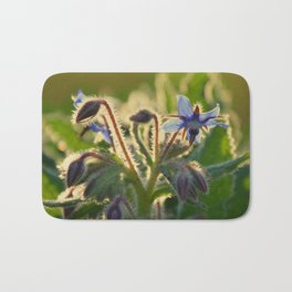 The Beauty of Weeds Bath Mat