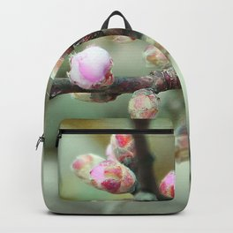 Cherry flower bud Backpack