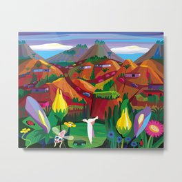 Marin County: The Hills have Eyes Metal Print