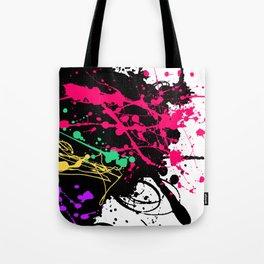 Funky splatter Tote Bag