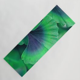 Ginkgo leaf Yoga Mat